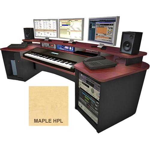 Omnirax Force Keyboard Composing Workstation (Maple Formica)