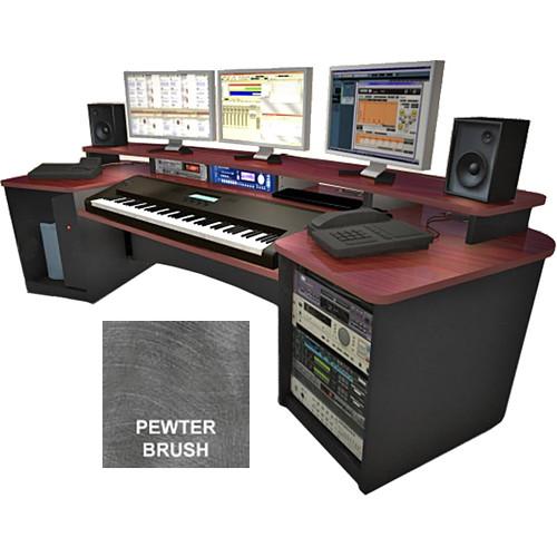 Omnirax Force Keyboard Composing Workstation (Pewter Brush Formica)