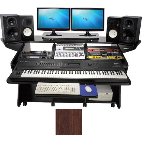 Omnirax Keyboard Composing / Mixing Workstation(Mahogany)
