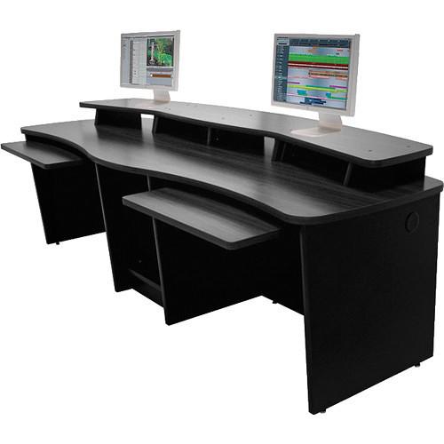 Omnirax Dual Position Multi-Purpose Workstation / Digital Editing / Audio Video Workstation (Black)