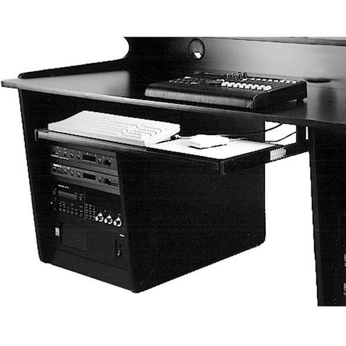 Omnirax Computer Keyboard / Mouse Shelf (Black)