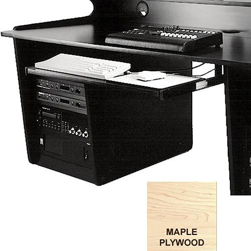 Omnirax Computer Keyboard / Mouse Shelf(Maple Plywood)