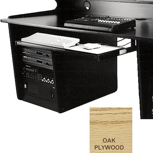 Omnirax Computer Keyboard / Mouse Shelf (Oak Plywood)