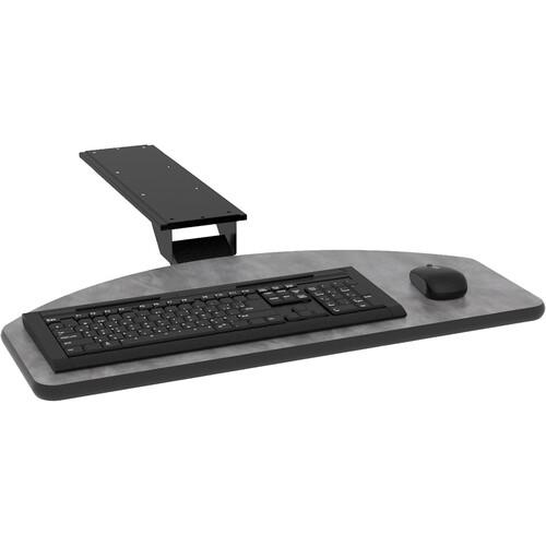 Omnirax Adjustable Computer Keyboard  Mouse Shelf for CS5 / HPL (Pewter)