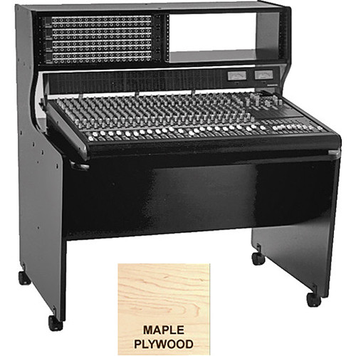 Omnirax 8 Rack Space Multi-Purpose Mixing / Composing Desk (Maple Plywood)