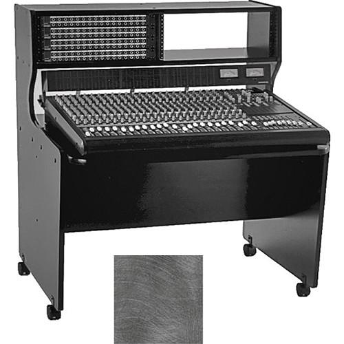 Omnirax 8 Rack Space Multi-Purpose Mixing / Composing Desk (Pewter Brush)