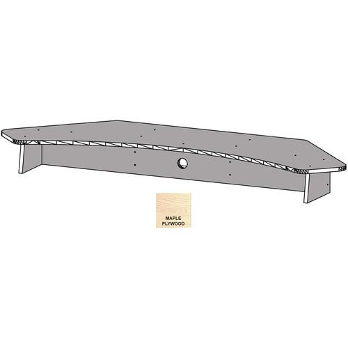 Omnirax Multiple Monitor Bridge / Riser For Producer 80 (Maple Plywood)