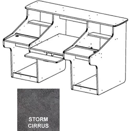 Omnirax MixStation for Tascam's DM3200 Mixer (Storm Cirrus Formica)
