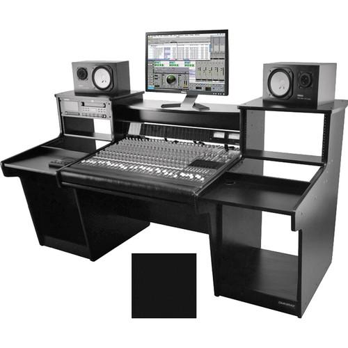 Omnirax Mixstation for Mackie 24 8-Bus Mixer (Black)