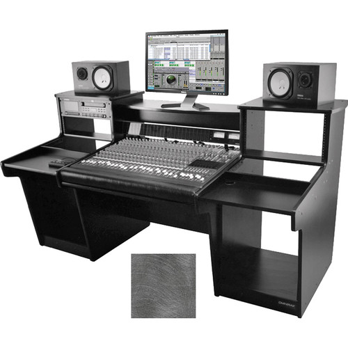 Omnirax Mixstation for Mackie 24 8-Bus Mixerr (Oak Plywood)