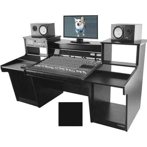 Omnirax Mixstation for Mackie 32 8-Bus Mixer (Black)