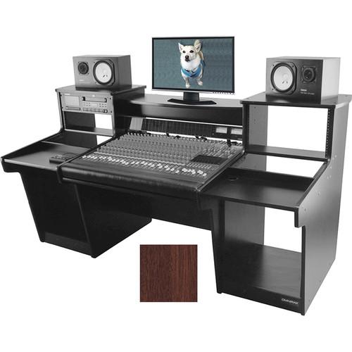 Omnirax Mixstation for Mackie 32 8-Bus Mixer (Mahogany)