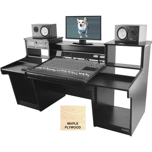 Omnirax Mixstation for Mackie 32 8-Bus Mixer (Maple Plywood)