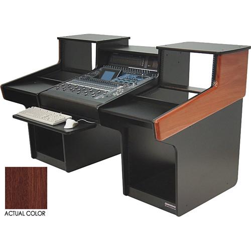 Omnirax MixStation Workstation for Yamaha O2R96 (Mahogany)