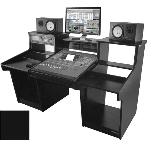 Omnirax Mixstation for Yamaha O2R (Black)