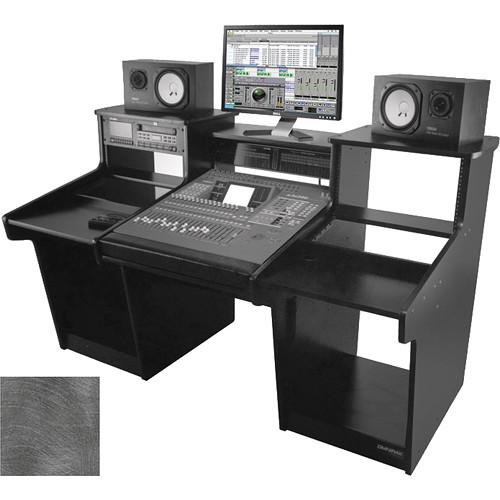Omnirax Mixstation for Yamaha O2R (Pewter Brush)