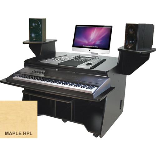 Omnirax NT Keyboard Composing / Mixing Workstation (Maple Formica)