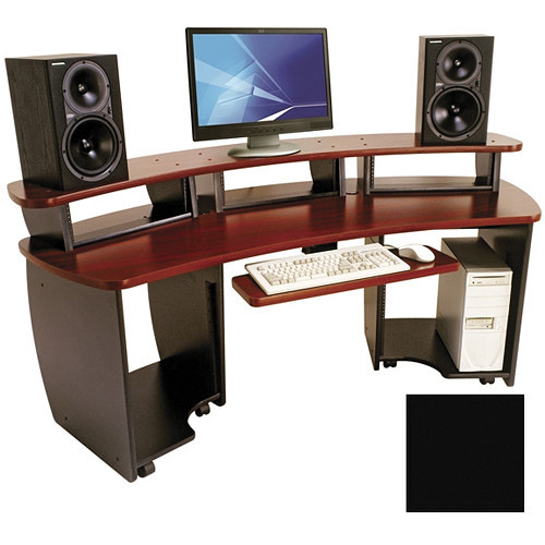 Omnirax Omnidesk Audio / Video Editing Desk (Black)