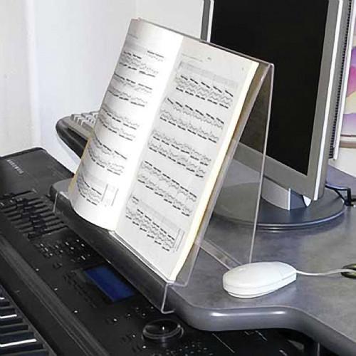 Omnirax PLEXMS Clear Plexiglas Stand for Sheet Music or Manuscripts