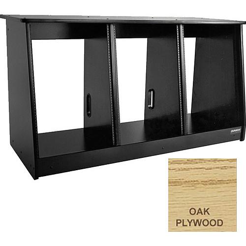Omnirax 48 Space (3 X 16) Producer's Cabinet (Oak Plywood)