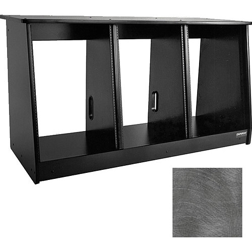Omnirax 48 Space (3 X 16) Producer's Cabinet (Pewter Brush)