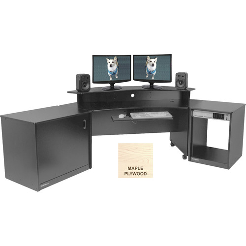 Omnirax Producer's Corner Suite (Maple Plywood)