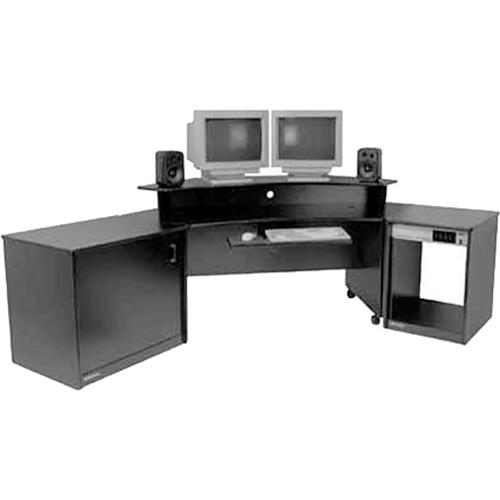 Omnirax Producer'S Corner Suite Includes The Following Models C14, CC14D, Prod80, MB70, KMSP (Black)