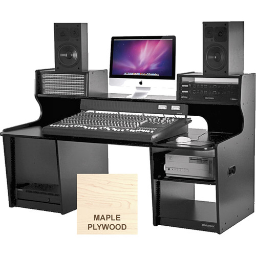 Omnirax ProStation Mixing/Composing Workstation (Maple Plywood)