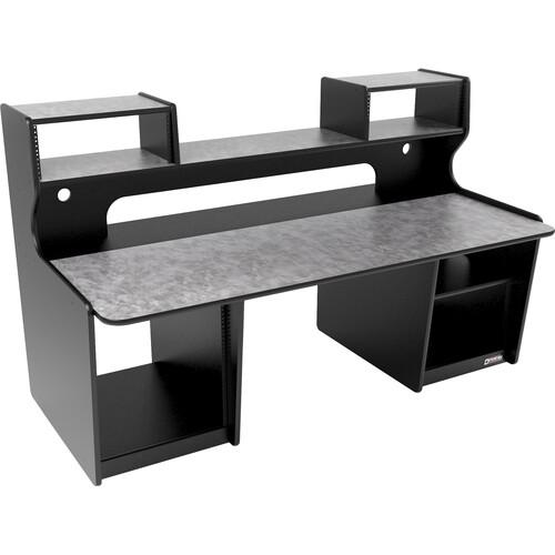 Omnirax ProStation M/C Workstation (Pewter Brush HPL)