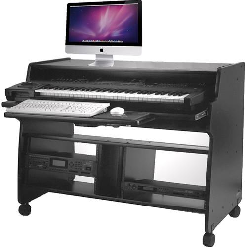 Omnirax TYRO Ultra-Compact Keyboard Workstation