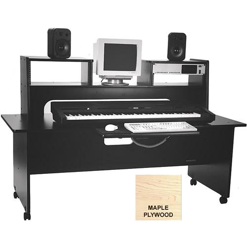 """Omnirax Workstation Desk - 30"""" Deep (Maple Plywood)"""