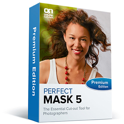 onOne Software Perfect Mask 5.2 Premium Edition Software (CD/DVD-ROM)