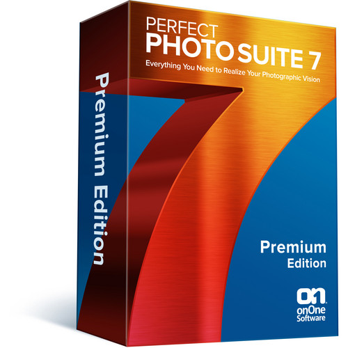 onOne Software Perfect Photo Suite 7 Premium Edition Software (DVD-ROM)