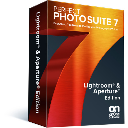 onOne Software Perfect Photo Suite 7 Lightroom and Aperture Edition Software (Academic / Government, DVD-ROM)
