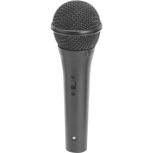 """On-Stage AS400HZ Handheld Cardioid Dynamic Vocal Microphone with XLR to 1/4"""" Cable"""