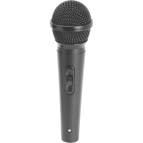 """On-Stage AS420HZ Handheld Cardioid Dynamic Vocal Microphone with XLR to 1/4"""" Cable"""