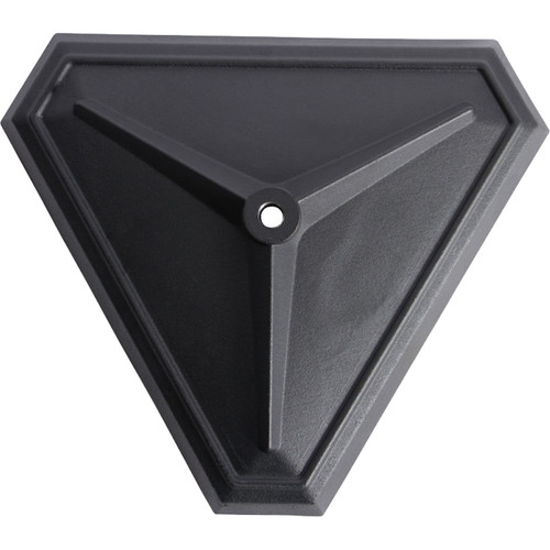 """On-Stage 15"""" 16 Lb Hex Base with M20 Thread"""