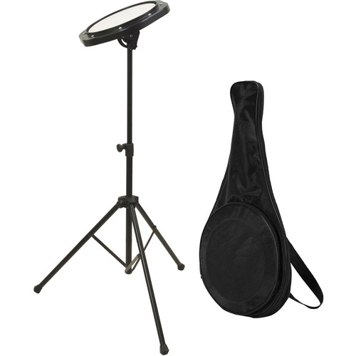 On-Stage Drum Practice Pad with Stand & Bag