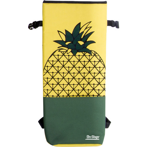 On-Stage GBU4203 Soprano Ukulele Gig Bag (Pineapple Print)