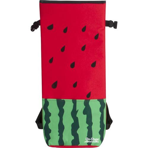 On-Stage GBU4203 Soprano Ukulele Gig Bag (Watermelon Print)