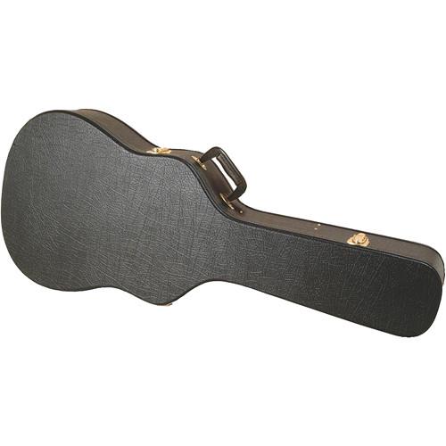 On-Stage GCA5500B Hardshell Molded Shallow-Body Acoustic Guitar Case