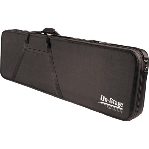 On-Stage GPCB5550 Polyfoam Bass Guitar Case (Black)