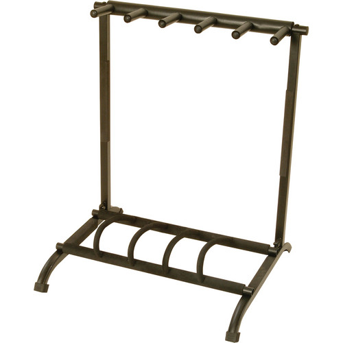 On-Stage GS7561 5-Space Foldable Multi-Guitar Rack Stand