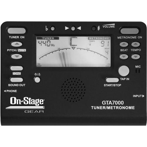 On-Stage Chromatic Tuner, Metronome, Tone Generator