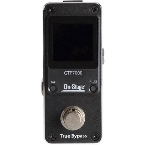 On-Stage GTP7000 Mini Pedal Tuner