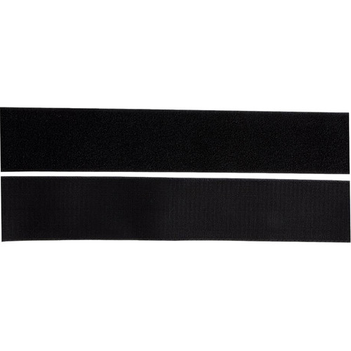 On-Stage HL4000 Hook & Loop Fastener Strips (Black)