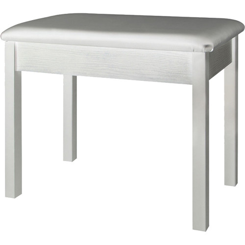 On-Stage Keyboard / Piano Bench (White)