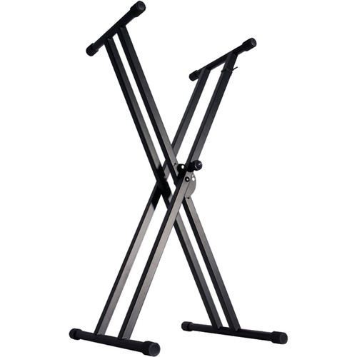 On-Stage KS7171 Double-X Keyboard Stand with Bolted Construction