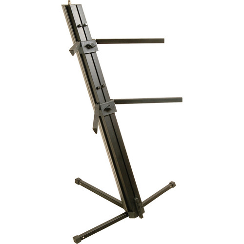 On-Stage KS9102 Quantum Core Column Keyboard Stand (Black)