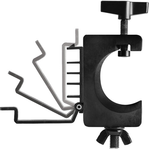 On-Stage LTA4880 Truss Clamp with Cable Management (Pair)